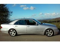 2002 MERCEDES E320 CDI DIESEL AUTOMATIC 1 YEARS MOT SERVICE HISTORY 55 + MPG