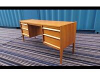 A Younger Dressing Table Desk Walnut Retro Mid Century ,Can Deliver