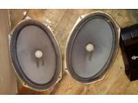 Honda civic 3 Dr ek ej9 rear 6-9 speakers