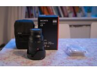 Sony 24-70 f2.8 GM G Master (Used but in mint condition)