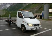 Mercedes sprinter 313 3.5t beavertail recovery truck