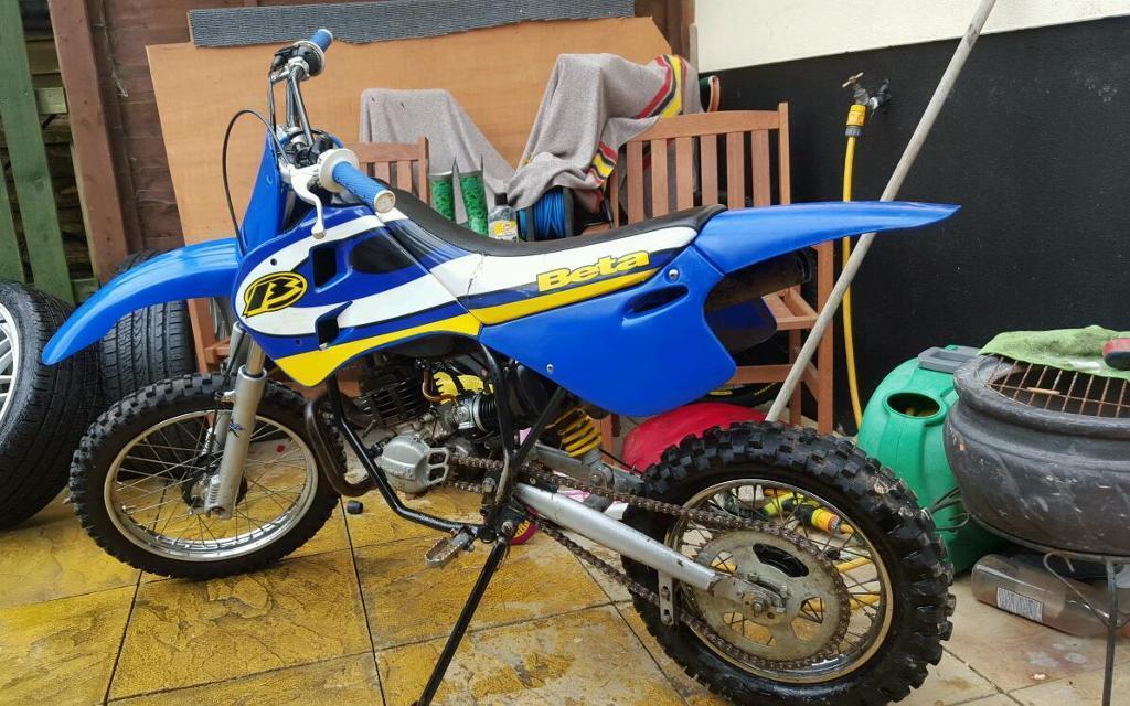 beta 50 cc mini cross auto boys motocross bike in st austell cornwall gumtree. Black Bedroom Furniture Sets. Home Design Ideas
