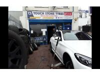 Touch stone tyres / 41 new road rm138dr open 7 days a week