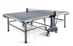 KETTLER OUTDOOR TENNIS TABLES WITH ACCESSORIES. FREE DELIVERY
