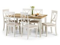 Gorgeous Ex Display Dining Set, Table & 6 Chairs, DAVENPORT