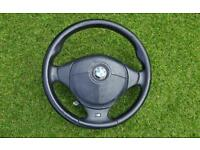 BMW M3 steering wheel with airbag