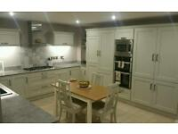 Replacement kitchen doors and worktops