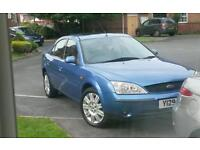 mondeo 2001 2.5 v6 ghia for sale or swap