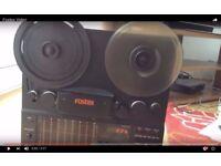 Fostex R8 2 head 1/4 inch 8 track reel to reel
