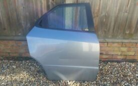 06-12 HONDA CIVIC MK8 5 DOOR HATCHBACK DRIVER OFF SIDE REAR DOOR BLUE B538M