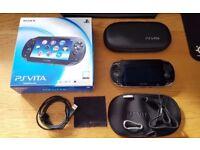 PS Vita 4G + WiFi (PCH 1103) + 4GB Card + Accessories