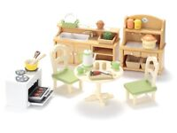 Sylvanian Families Country Kitchen Set - Bargain £10
