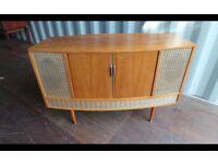 Retro Vintage Radiogram/Turntable Can Deliver