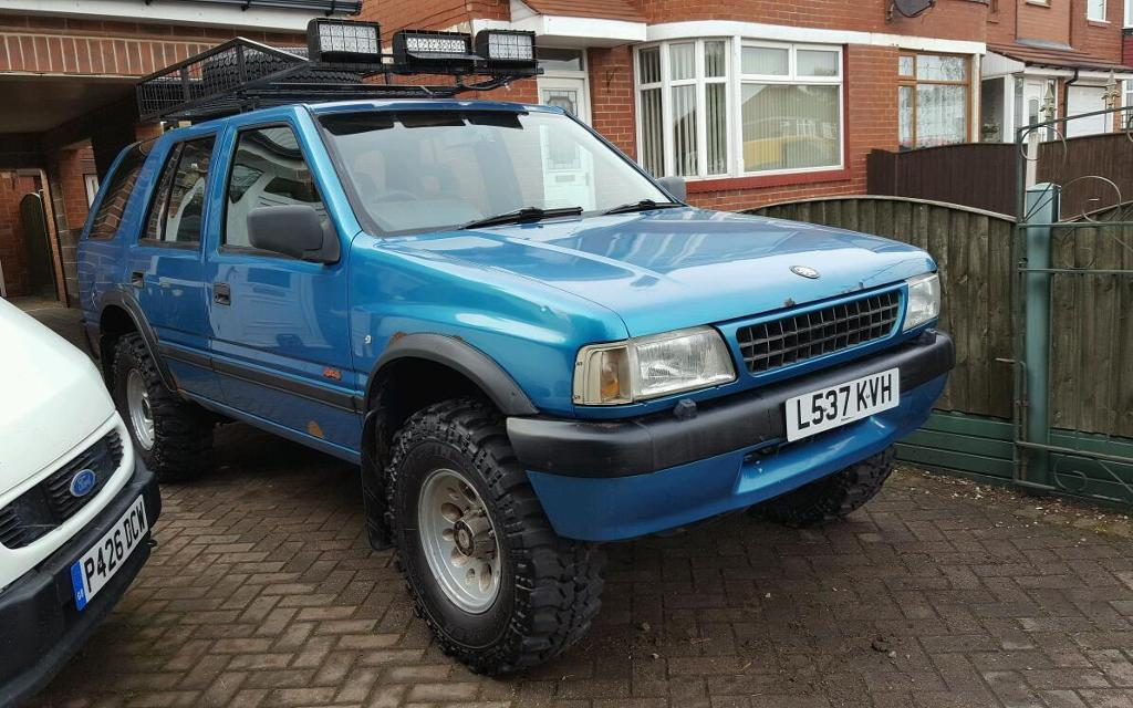 vauxhall frontera 4x4 off road in rotherham south yorkshire gumtree. Black Bedroom Furniture Sets. Home Design Ideas