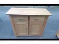 Solid Oak chest of drawers ,cabinet,can deliver