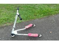 Girls fliker scooter