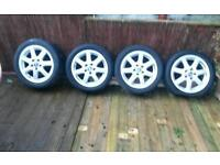 Wheel rims and tyres