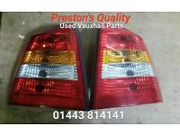 Vauxhall Astra Hatchback Mk4. 5 door rear lights