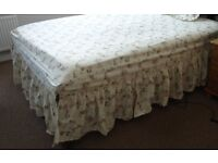 NEW Valance Sheet Double Size: DORMA Spring Bouquet Country Diary Collection. New