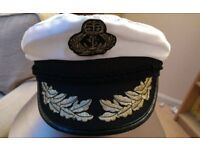 Navy officers captain cap Hat - fancy dress