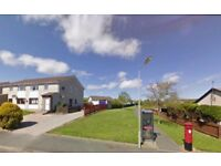 South facing 2 bed flat to rent part-furnished in Barratt Drive, Ellon
