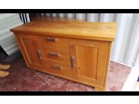 Solid Oak Quality Sideboard Can Deliver