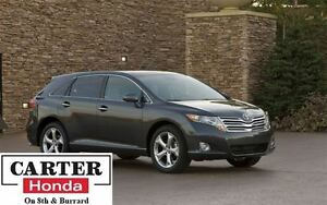 2012 Toyota Venza AWD V6 + LEATHER + DUAL SUNROOF + PWR TAIL GAT