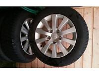 Honda accord or civic 16 inch winter tyres and alloy wheels