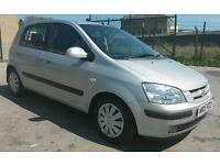 2005 05 REG HYUNDAI GETX 1.1 CDX, HIGH SPEC, HPI CLEAR, FULL MOT, 5 DOORS HATCHBACK, IDEAL FIRST CAR