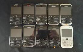 10 blackberry phones