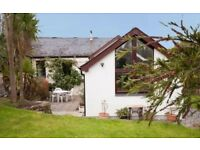 Large Cornish house available this August bank holiday - sleeps 8 - dog friendly