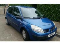 Renault Megan Scenic 1.6, Met blue 12 months MOT £650