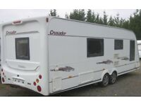 ELDDIS CRUSADER SUPPER SIROCCO FIXED BED TWIN MOVERS SUPERB CONDITION