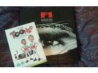 F1 book and DVD