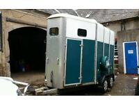 Ifor williams HB510 horse box trailer