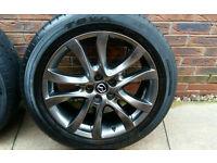 Mazda CX5 Alloy wheels 19 inch with Toyo tyers 4X