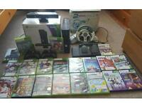 Xbox 360+Kinect+20 games (inc FIFA 16 , MINECRAFT)+2 controllers+ extras