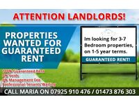 Attention landlords! Guaranteed rent