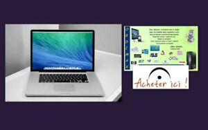 "MacBook Pro 13""   Intel   i5   / A1278 / 8 Gb RAM/ 500 GB Disque Dur/ OS High Sierra   514-522-8886 Excellent  condition"