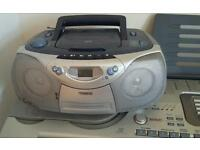 Philips cd player & cassete