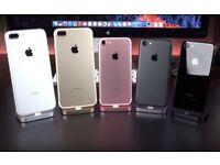 Apple IPhone 7 Black 128GB Unlocked With Warranty