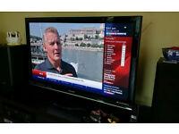 Panasonic VIERA 42-inch Plasma TV Built in Freeview Full HD 1080p