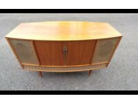 Retro Vintage Radiogram/Turntable Can Deliver