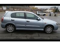 2005 NISSAN ALMERA SX 1.5L 16V 5Door Hatchback Manual Petrol BARGAIN@ £1290