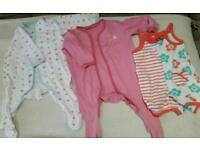 Bundle of clothes for baby girl 3-6 months