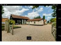 5 Bedroom Barn Conversion 2 acres for rent near Dickleburgh