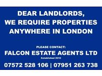 Landlords - Property Wanted Anywhere in London