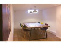 Desk space to rent in Stockbridge, Edinburgh / Meeting area to rent