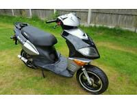 125cc moped engine does run but bike needs work and parts see notes. Can deliver