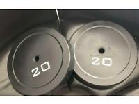 BRAND NEW 20KG Weight Plates